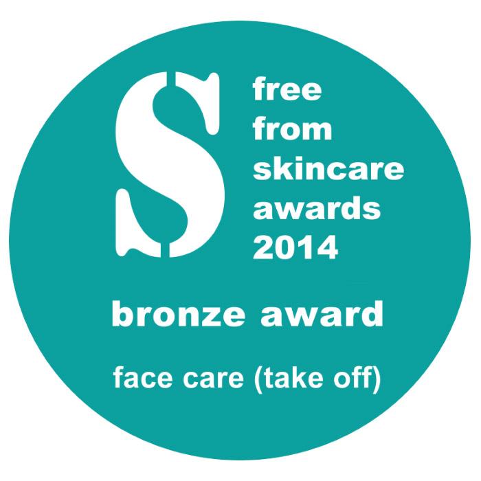 Free From skincare awards Urban Veda