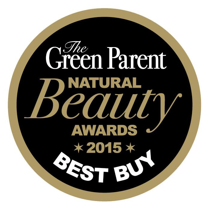 Green Parent Best Buy beauty award Urban Veda