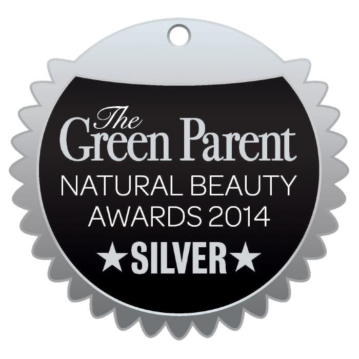 Green Parent 2014 Silver beauty award Urban Veda