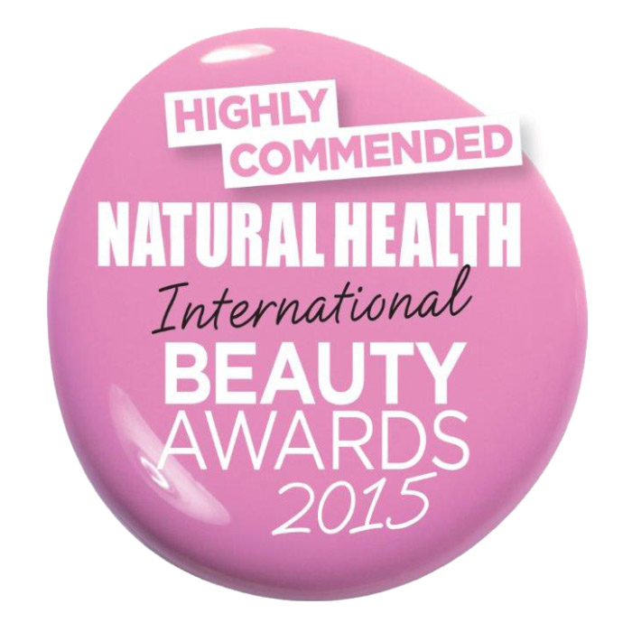 Natural Health Highly Commended beauty award Urban Veda