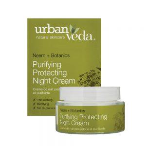 Urban Veda Purifying Protecting Night Cream