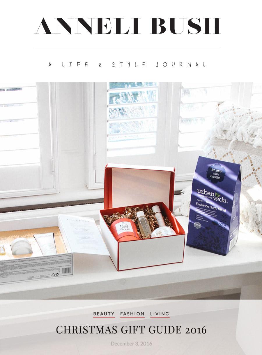 Anneli Bush Christmas gift guide 2016
