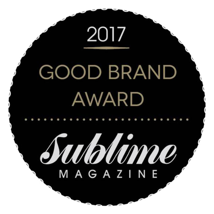Good Brand award Sublime magazine