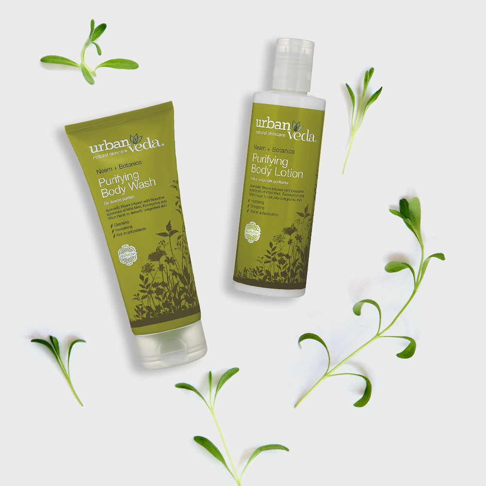 Image of Urban Veda Product Giftsets Bath Body Purifying