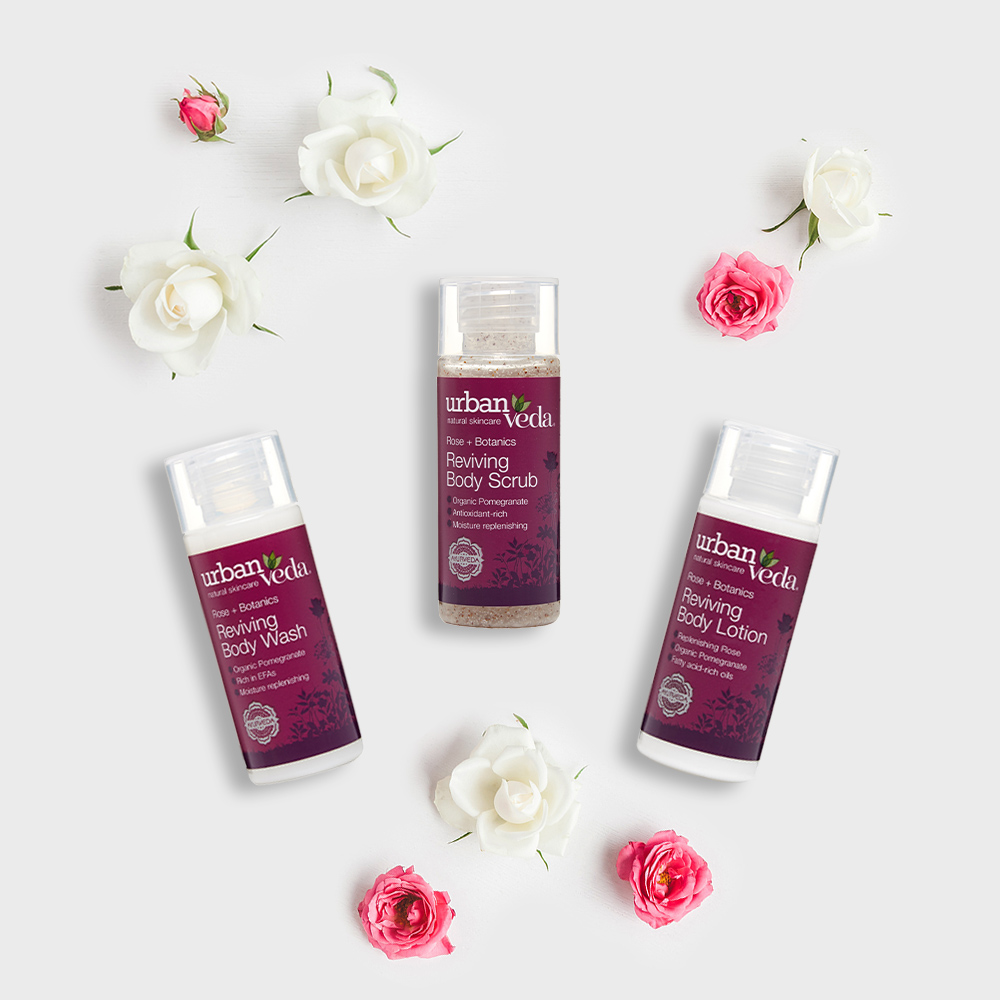 Image of Urban Veda Body Giftsets Body Ritual Travel Reviving