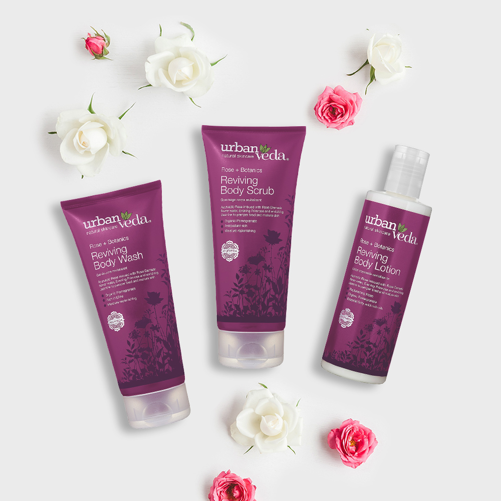 Image of Urban Veda Body Giftsets Body Facial Travel Reviving