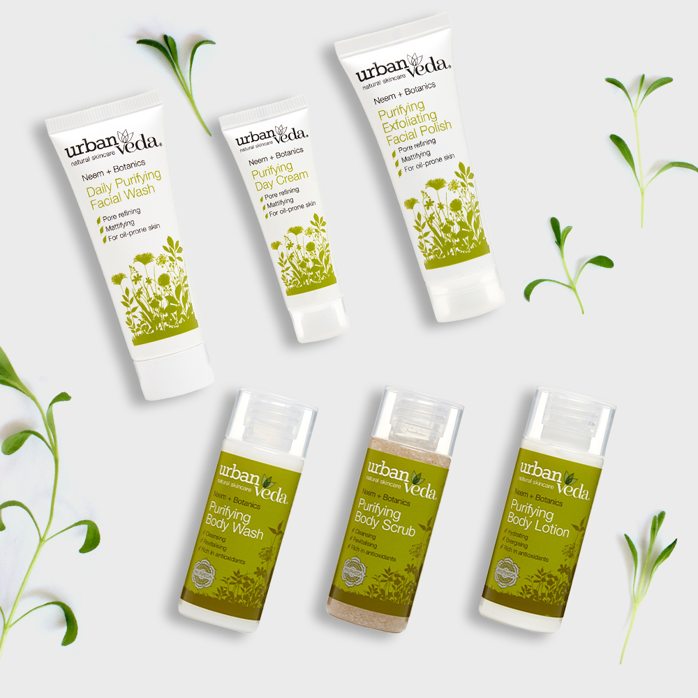 Image of Urban Veda Body Giftsets Discovery Travel Purifying