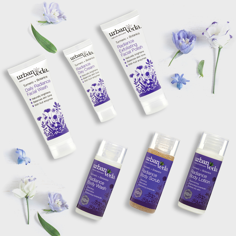 Image of Urban Veda Body Giftsets Discovery Travel Radiance