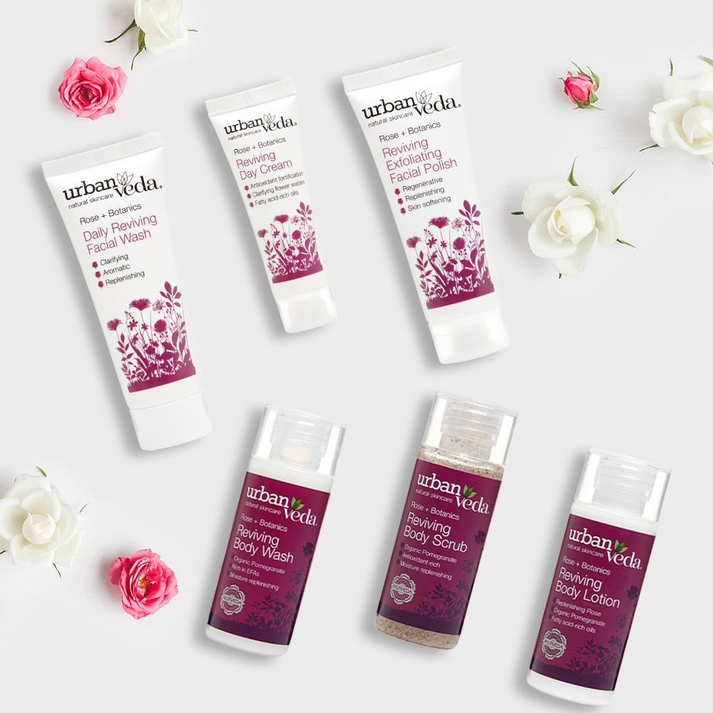 Image of Urban Veda Body Giftsets Discovery Travel Reviving
