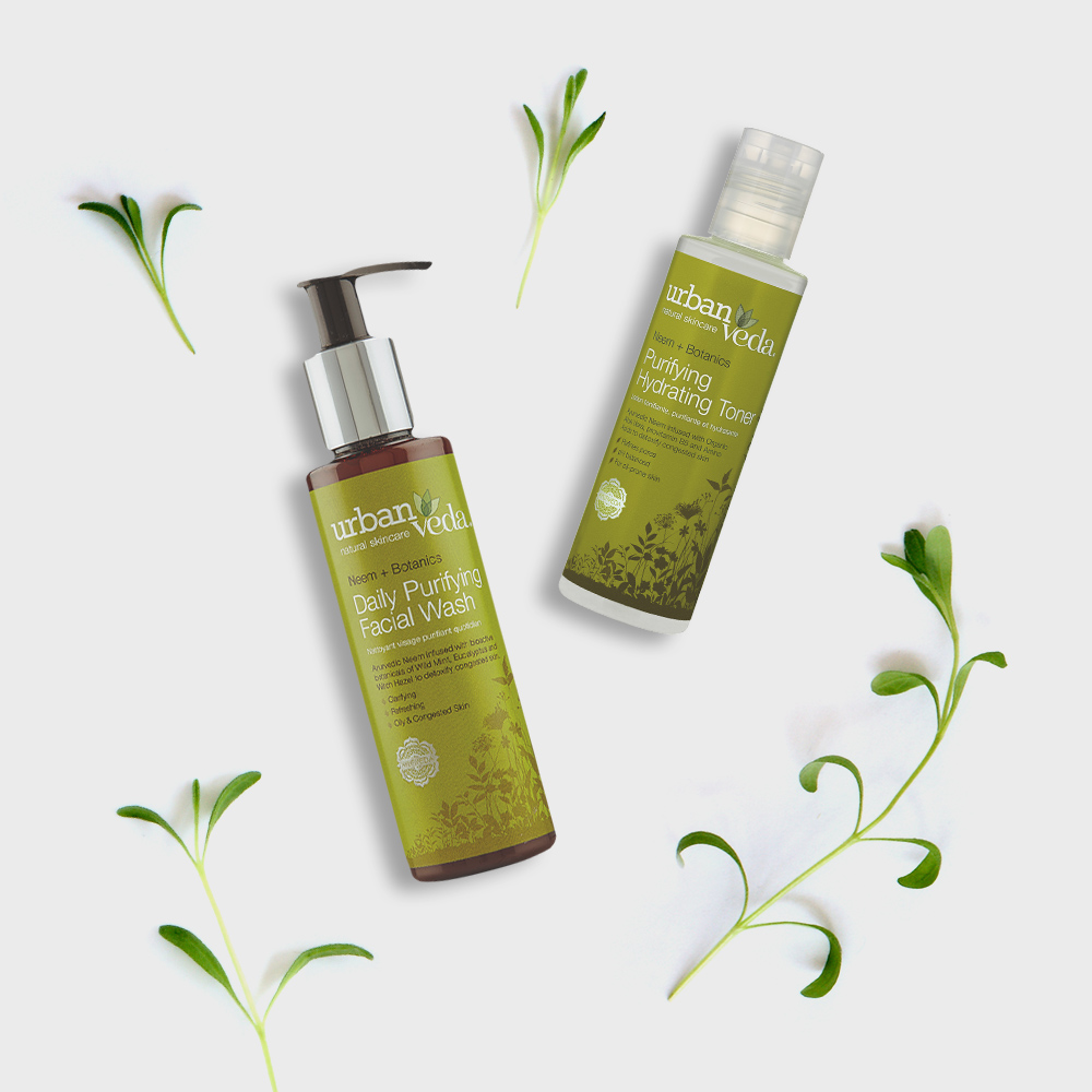Image of Urban Veda Product Giftsets Facial Cleansing Duo
