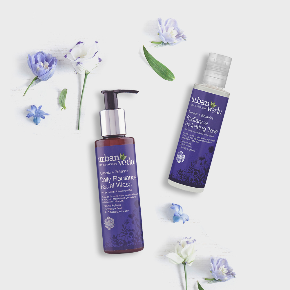 Image of Urban Veda Product Giftsets Facial Cleansing Radiance