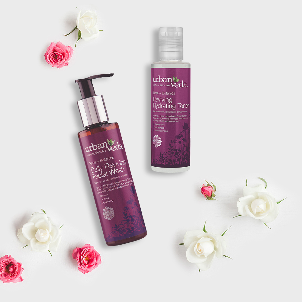 Image of Urban Veda Product Giftsets Facial Cleansing Reviving