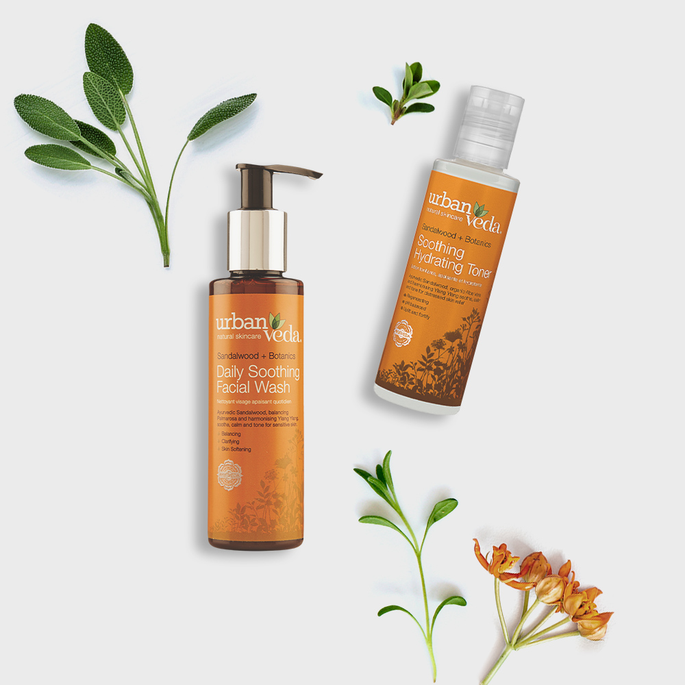 Image of Urban Veda Product Giftsets Facial Cleansing Soothing