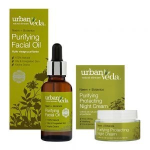 Image of Urban Veda Product Bundle Night Time Self Care Purifying