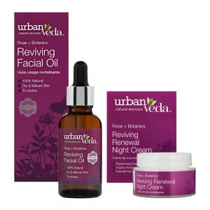 Image of Urban Veda Product Bundle Night Time Self Care Reviving