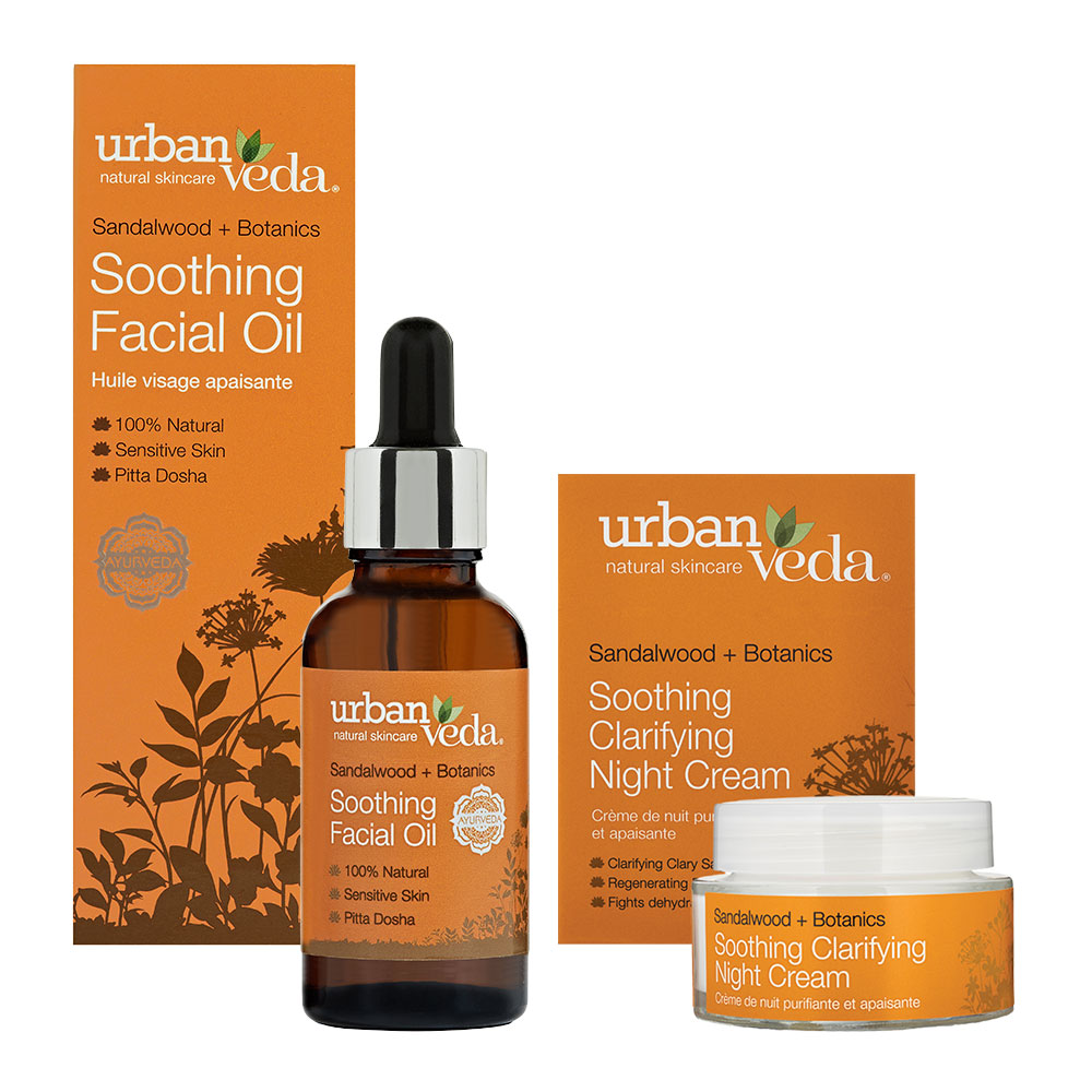 Urban Veda Product Bundle Night Time Self Care Soothing