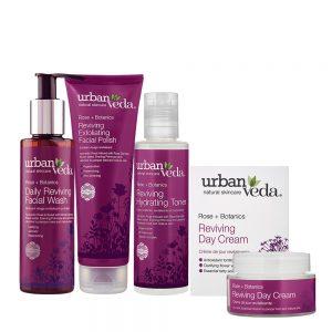 Image of Urban Veda Product Bundles Skincare Ritual Essentials Reviving