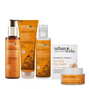 Image of Urban Veda Product Bundles Skincare Ritual Essentials Soothing