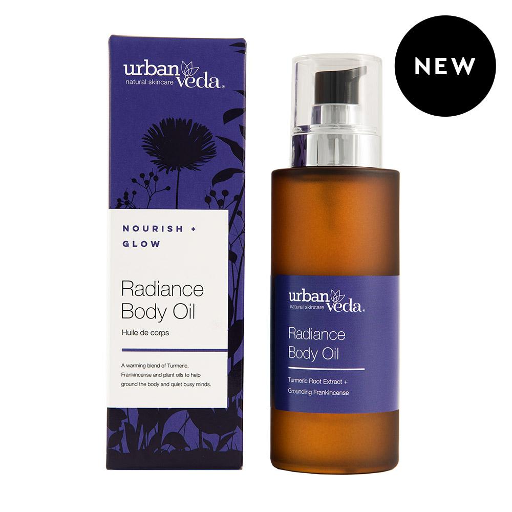 Urban Veda Ayurvedic Products Body Oils 100ml Radiance 4