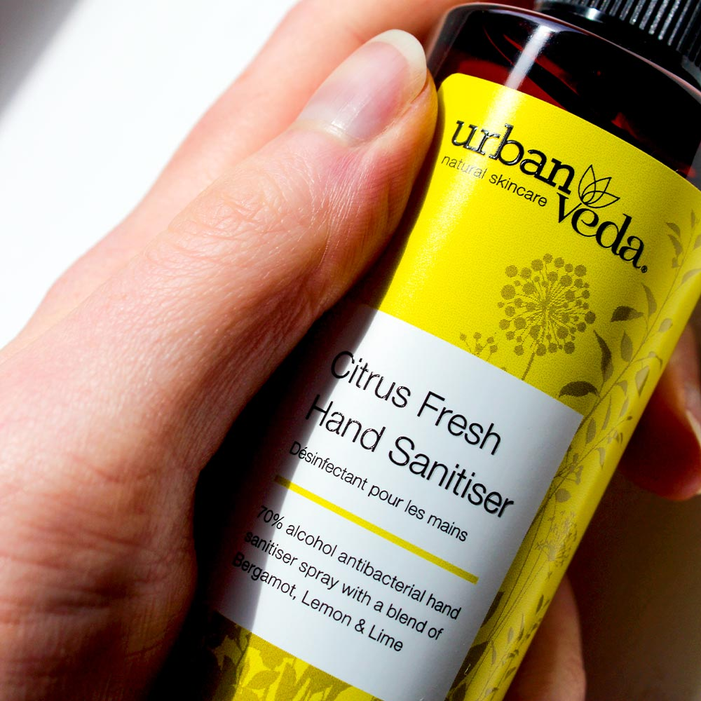 Image of Urban Veda Hand Sanitiser Spray 100ml 5