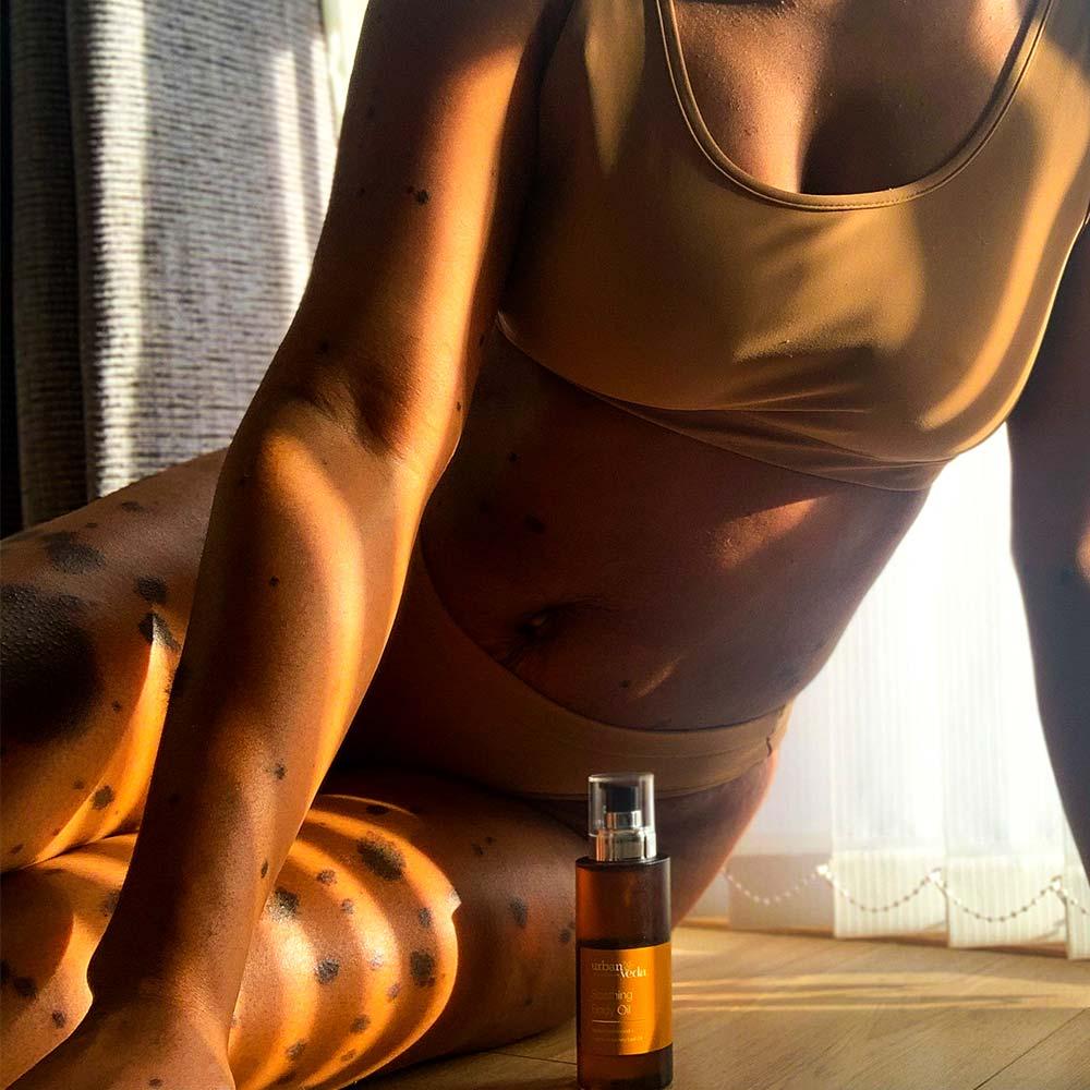 Urban Veda Soothing Body Oil 100ml 8